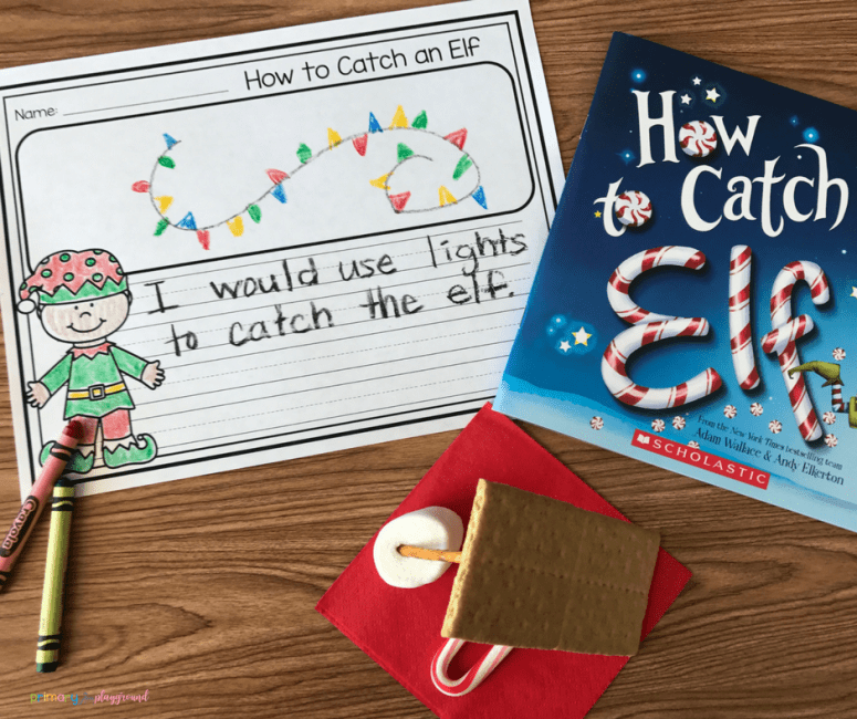 Literacy Snack Idea How To Catch An Elf Snack