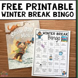 Free Printable Winter Break Bingo