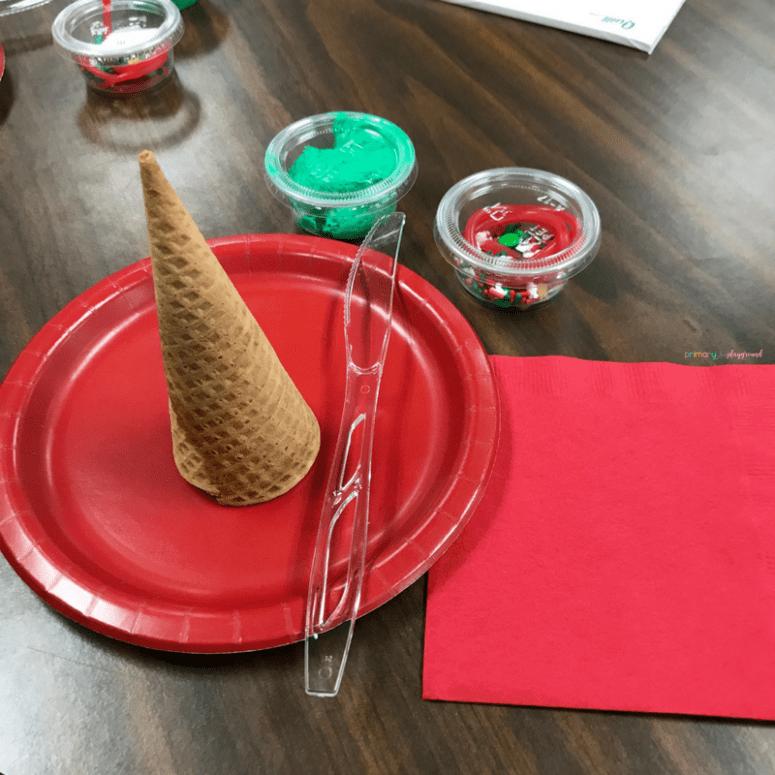 Christmas Tree Sugar Cone