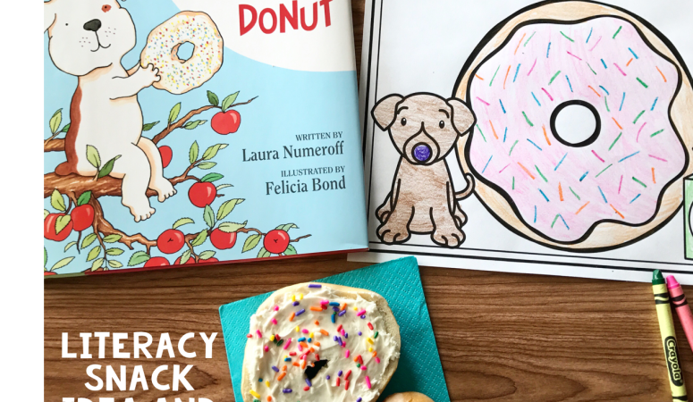 Literacy Snack Idea Donuts + Free Printable