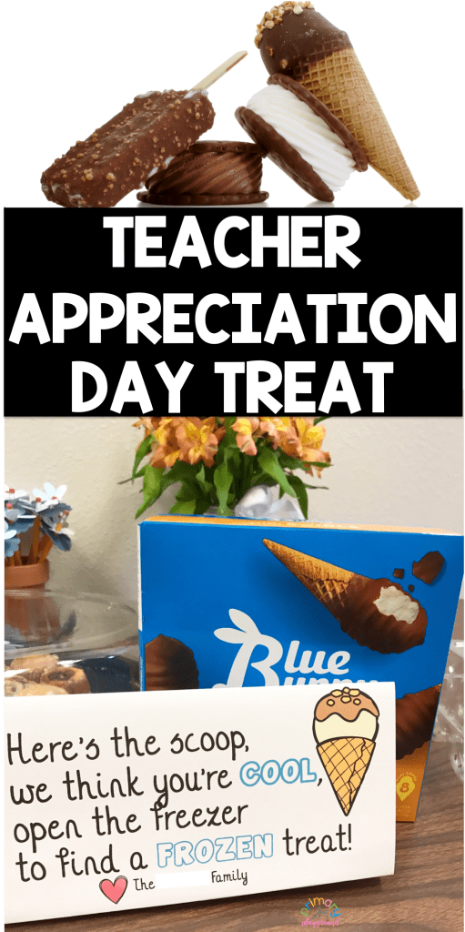 Teacher Appreciation Day Treat
