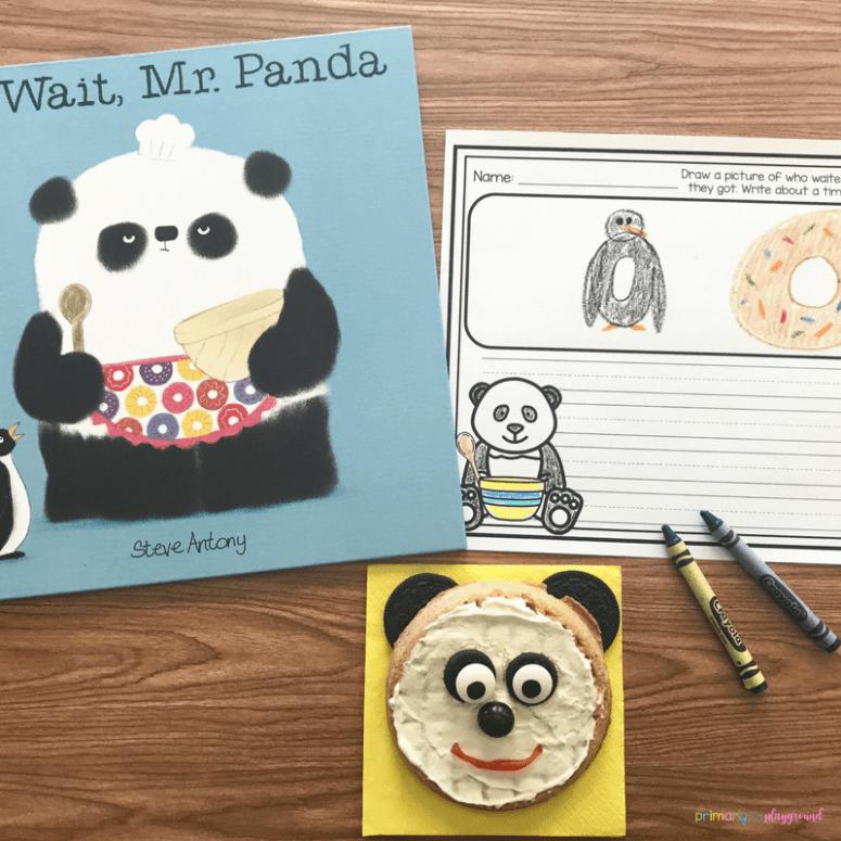Literacy Snack Idea Panda + Free Printable