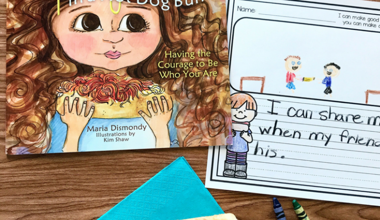 Literacy Snack Idea Courage + Free Printable