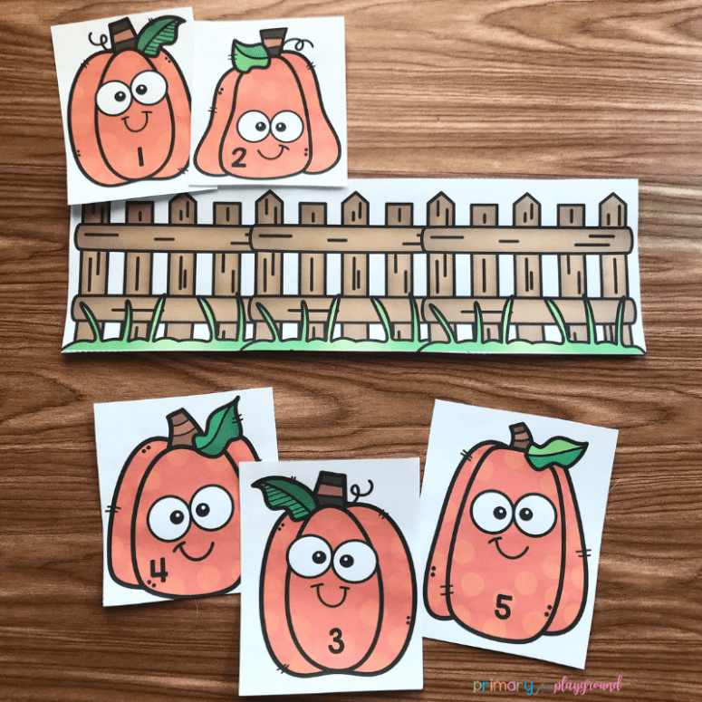 Free Printable Five Little Pumpkins