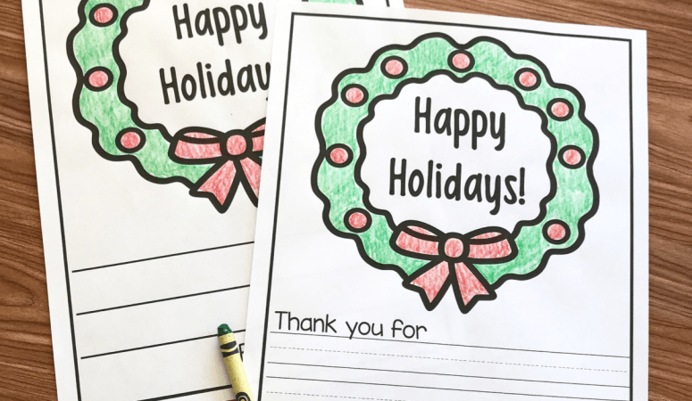 Free Printable Holiday Letters for Our Military and First Responders