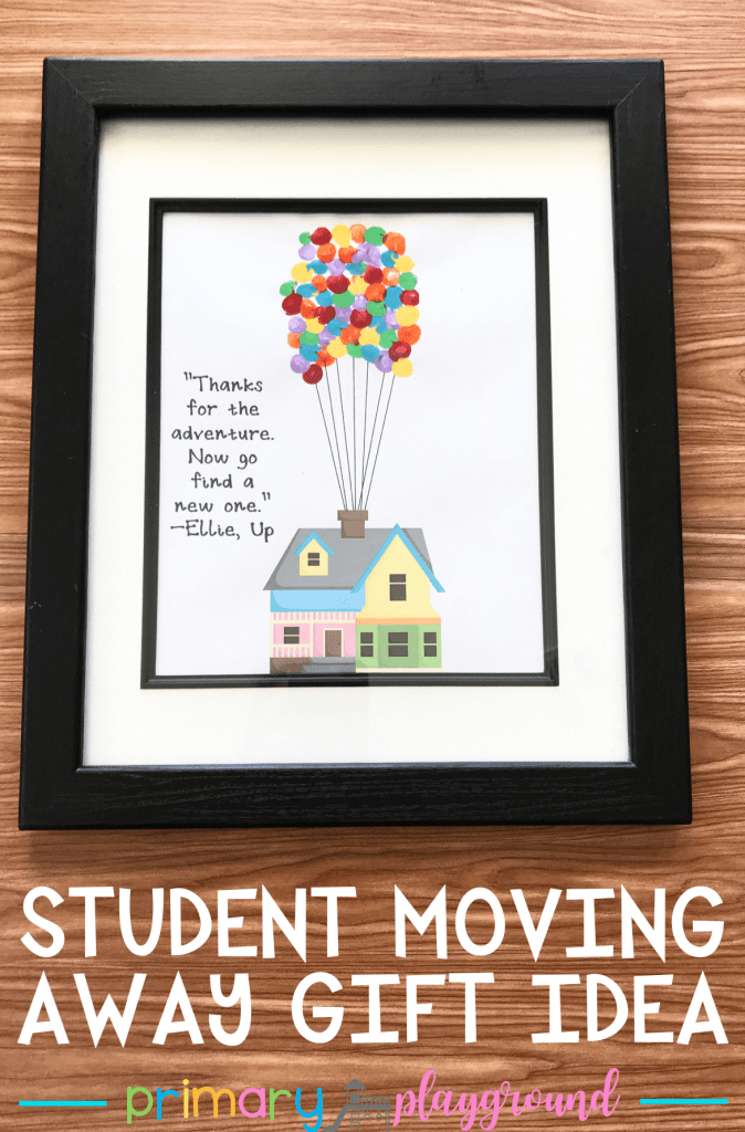 Student Moving Away Gift Idea