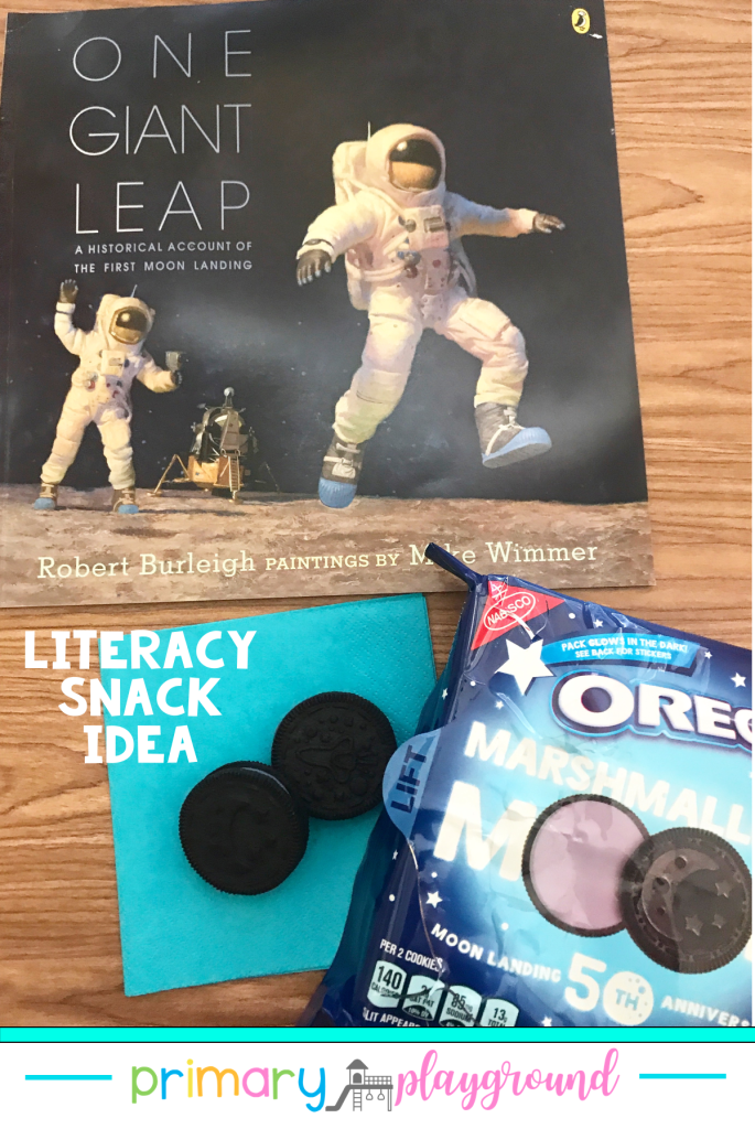 Literacy Snack Idea Moon Landing