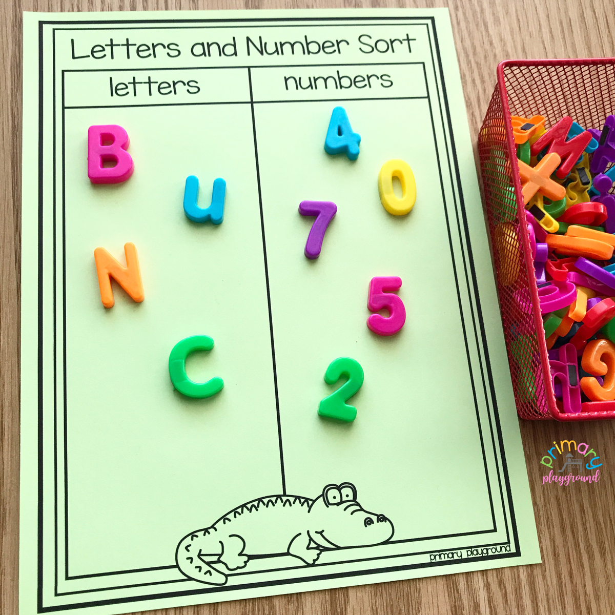 picture regarding Printable Letters and Numbers known as Free of charge Printable Letters and Quantities Kind - Essential Playground
