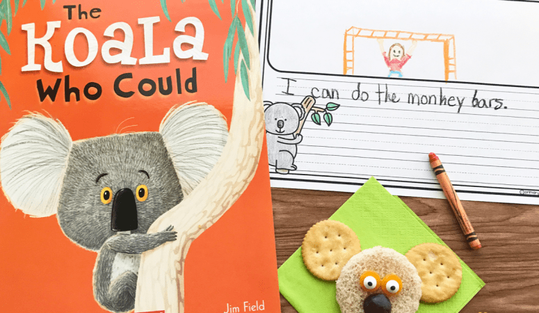 Literacy Snack Idea Koala + Free Printable