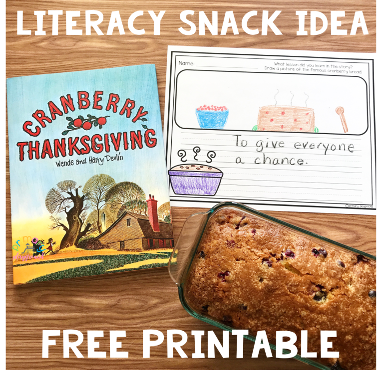 Literacy-Snack-Idea-Cranberry Thanksgiving