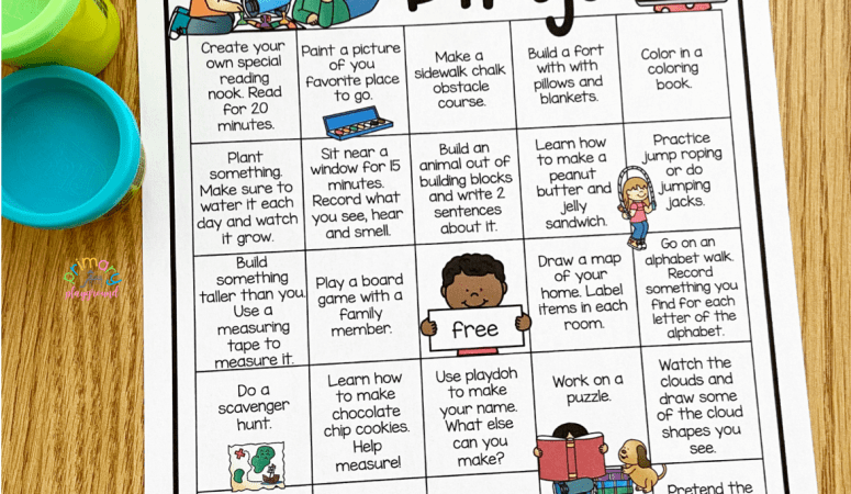 Screen-Free Bingo