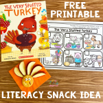 Literacy Snack Idea Stuffed Turkey