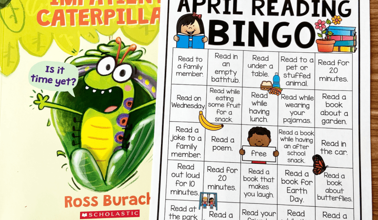 Free Printable April Reading Bingo