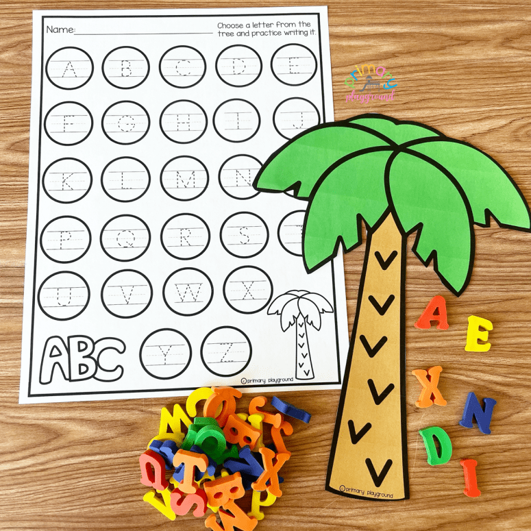 Alphabet Tree Center