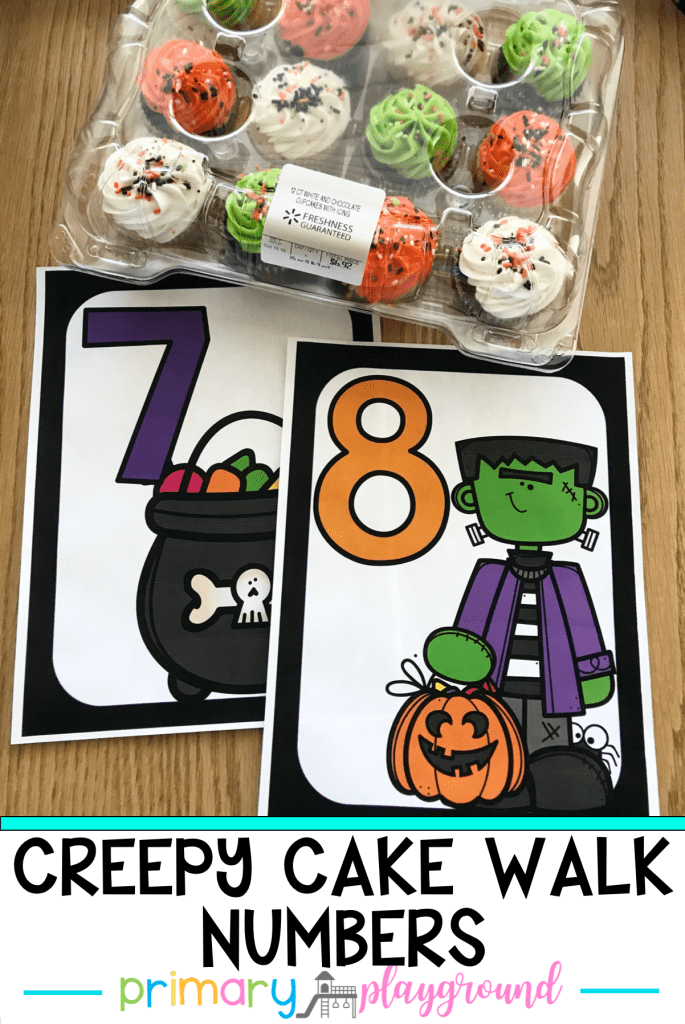 Need a fun game to play during your Halloween carnival? I've got you coveered with these Free Creepy Cake Walk Numbers to make game set up a breeze!