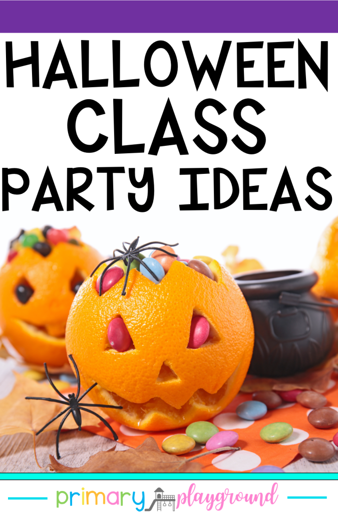 Looking for some easy, fun, low-stress Halloween Class Party Ideas? We've got you covered! Come and see our Halloween party ideas.