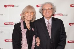 Margery Gray Harnick and Sheldon Harnick. Primary Stages 30th Anniversary Gala 2014 ©Hechler Photographers