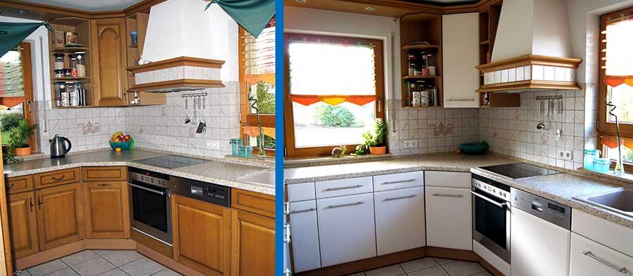 Küchenfronten - Küchenfronten erneuern, Küchenfronten austauschen