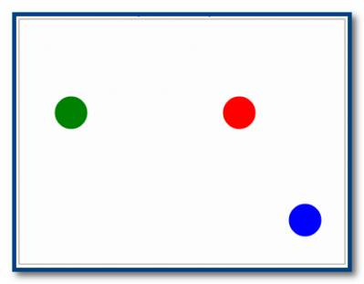 Графика на Паскале - отражение шариков