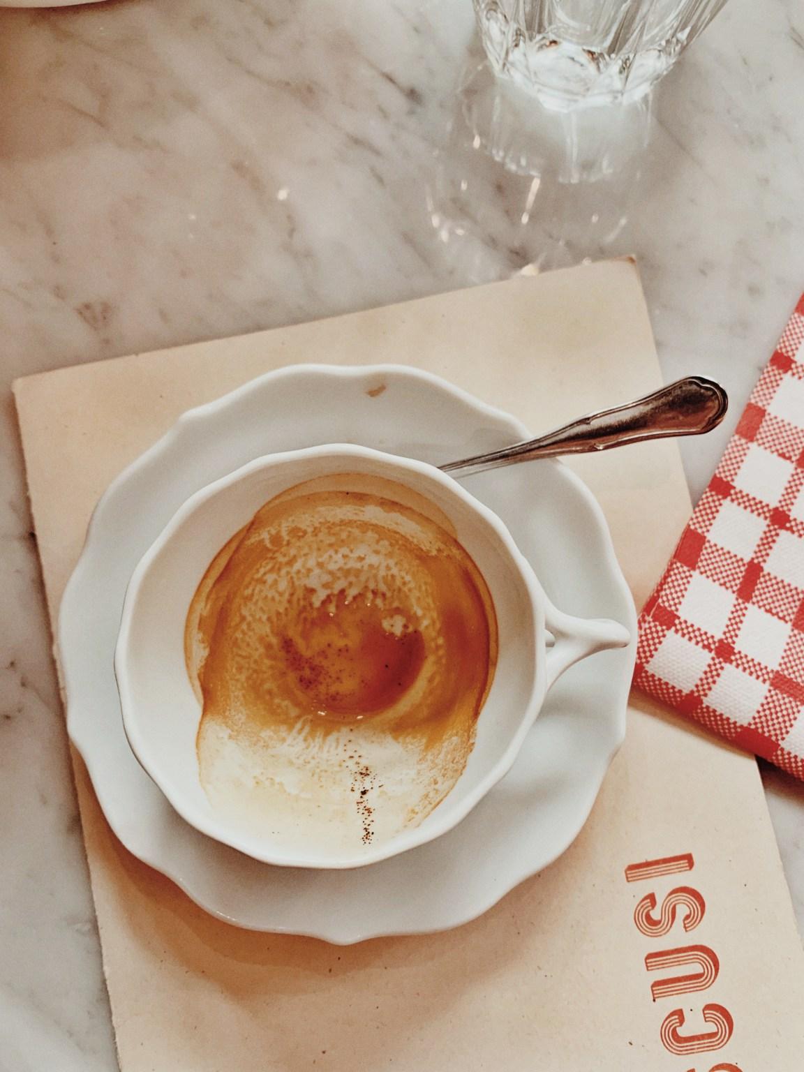 Ingen italiensk måltid är komplett utan en espresso