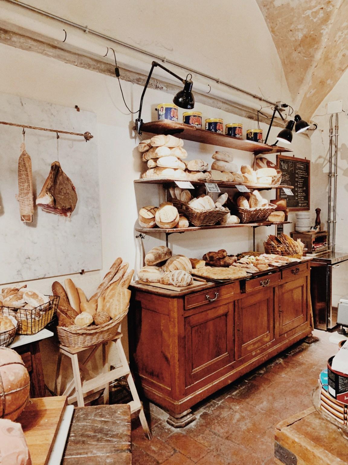 På det mysigaste bageriet i Florens, Il Panificio