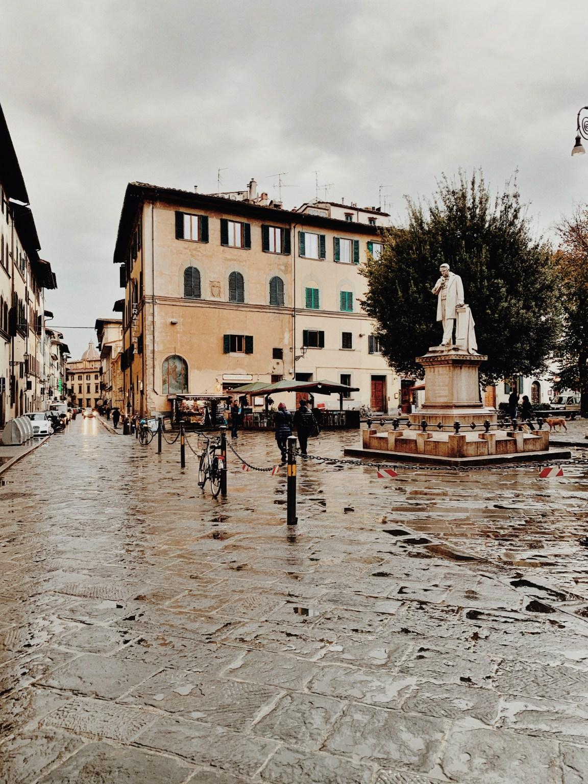 "Firenze sotto la pioggia (\""Florens under regnet\"")"