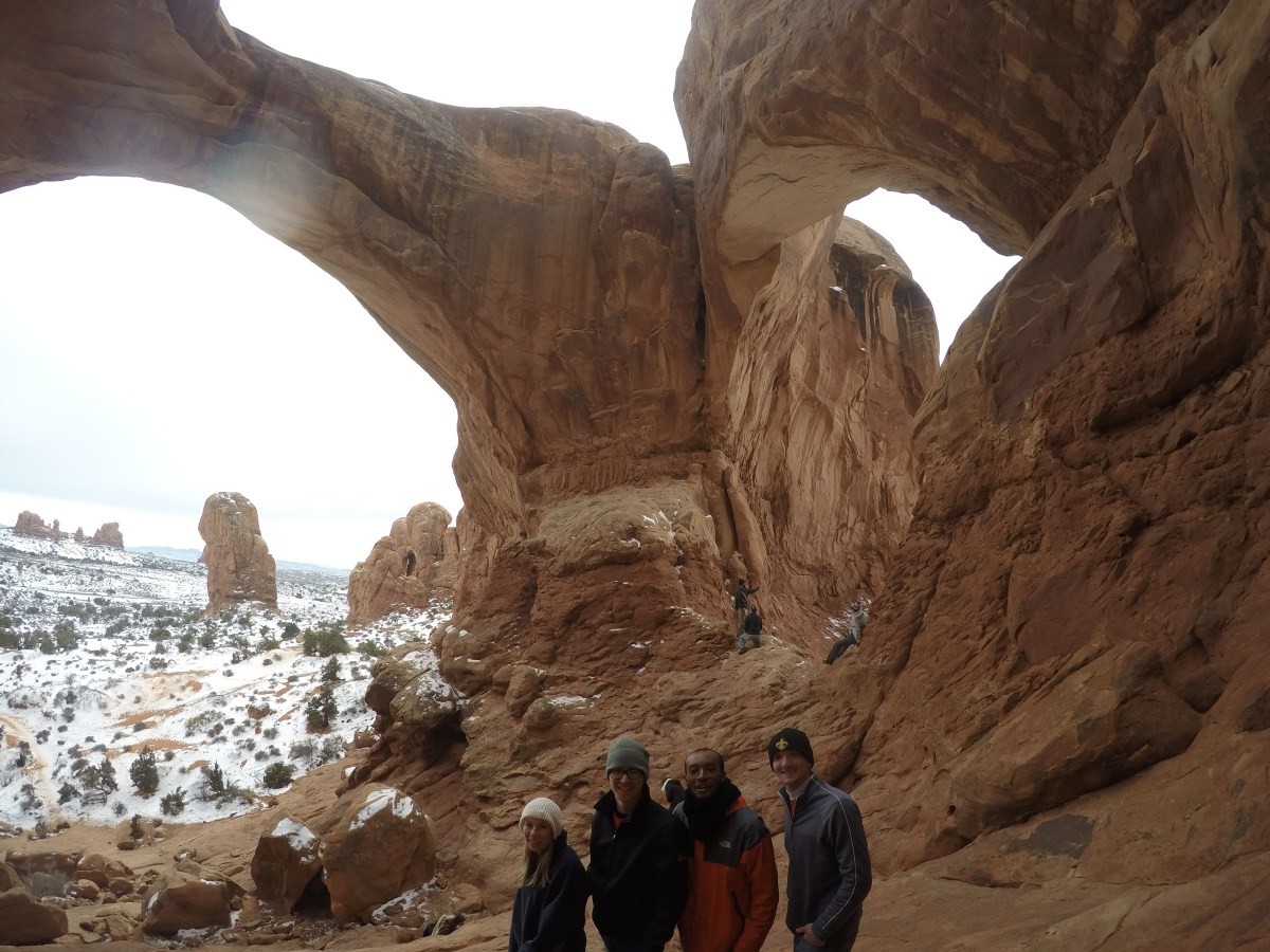 Double Arch - Arches National Park Moab, Utah
