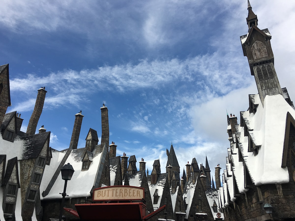 Hogsmeade at the Wizarding World Of Harry Potter, Islands of Adventure, Universal Studios Orlando, Florida