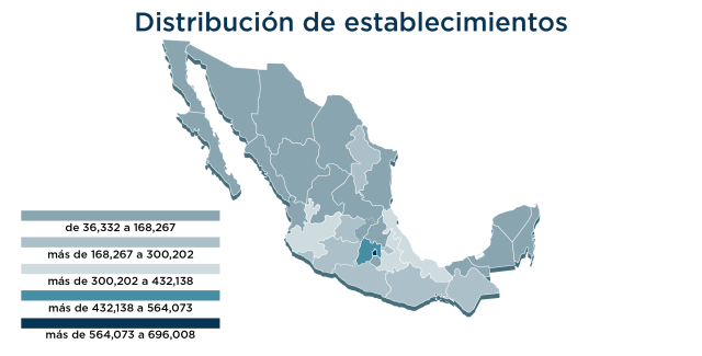 Graph of the tenth edition of the National Statistical Directory of Inegi Economic Units in Mexico Doporto PR1ME Capital Luis Doporto Alejandre Lawyer Lawyer Mexico Doporto PR1ME Capital Chapter 9: Mexico and the International Stock Market