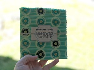 all natural beeswax food wraps