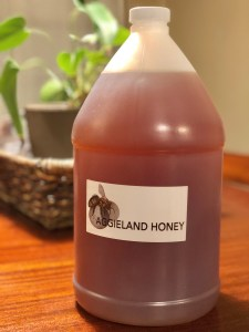 gallon of local Aggieland Honey