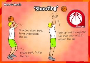 basketball shooting sport pe lessons games ideas kids