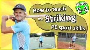 tennis how to teach elementary sport physical education
