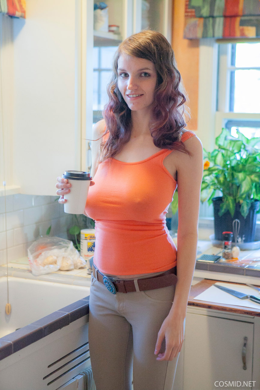tumblr brunette big tits