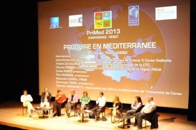 """La conference """"Produire en Méditerranée"""""""