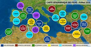 Carte des films PriMed 2018