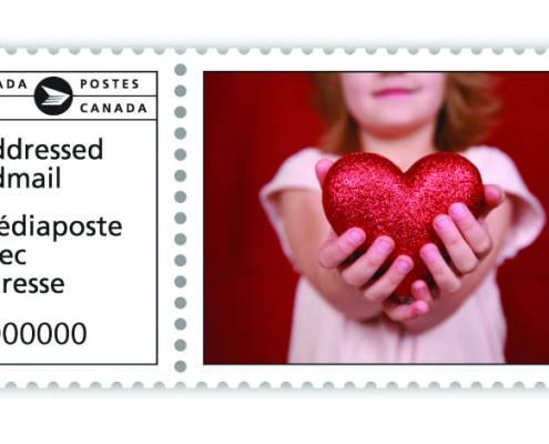 Customized Canada Post Indicia