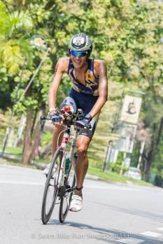 Retzel on bike