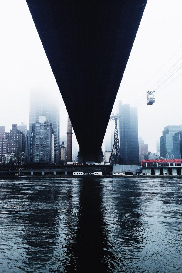 City Landscape Near a River