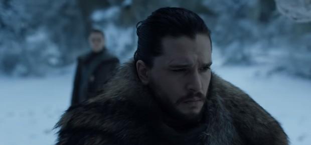 'Game of Thrones': Dois novos trailers mostra reunião de Jon e Arya em Winterfell destruída