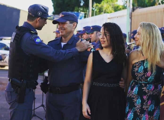 Polícia Militar promove ato de valorização a sargento em seu último dia de trabalho