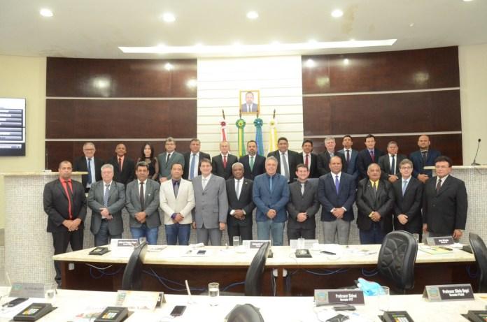 Juízes visitam a Câmara de Rondonópolis e trazem proposta de ressocialização