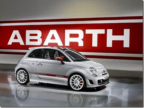 DADOS OFICIAIS DO 500 ABARTH ESSEESSE