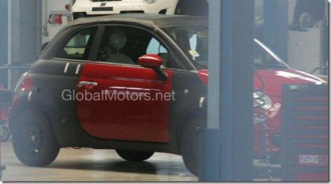 FOTOS ESPIA-FIAT 500 CABRIO
