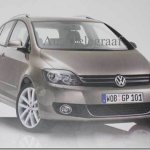 VOLKSWAGEN REVELA ACIDENTALMENTE A NOVA GOLF PLUS