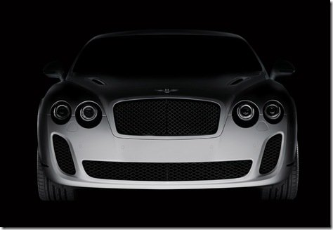 Genebra 2009-primeiro teaser do Bentley BioFuel Supercar