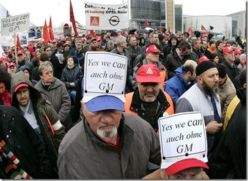 Alemães querem separação entre Opel e GM