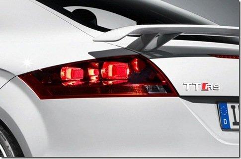 Teasers do Audi TT-RS