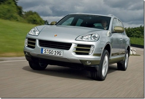 Porsche Cayenne S Hybrid finalmente será lançado, em 2010.