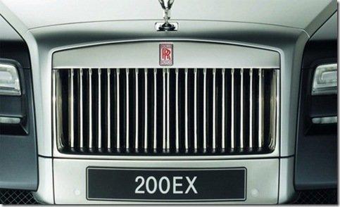 Primeiro teaser do Rolls-Royce 200EX